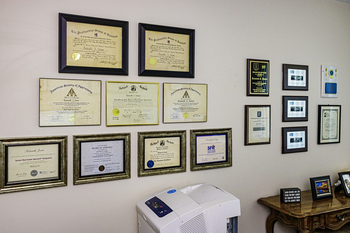 My real estate designations and certifications.